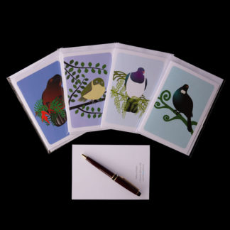 #NZNative birds greeting card series